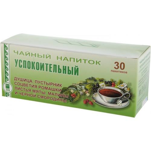 Напиток чайный «Успокоительный»  г. Красногорск