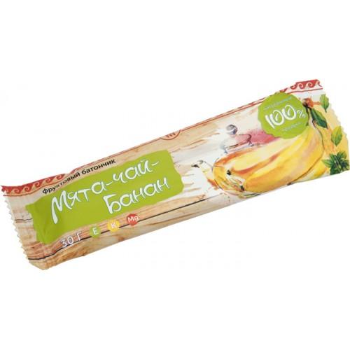 Батончик фруктовый Банан-чай-мята  г. Красногорск