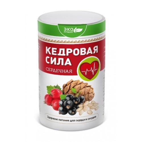 Продукт белково-витаминный Кедровая сила - Сердечная  г. Красногорск
