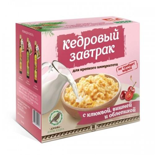 Завтрак кедровый для крепкого иммунитета с клюквой, вишней и облепихой  г. Красногорск