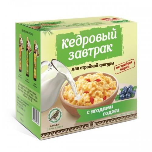 Завтрак кедровый для стройной фигуры с ягодами годжи  г. Красногорск