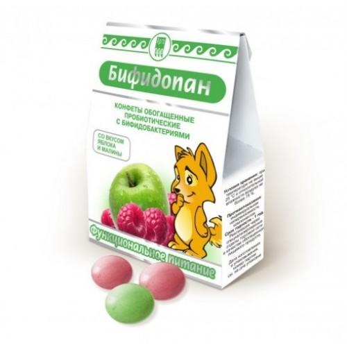 Конфеты обогащенные пробиотические Бифидопан  г. Красногорск